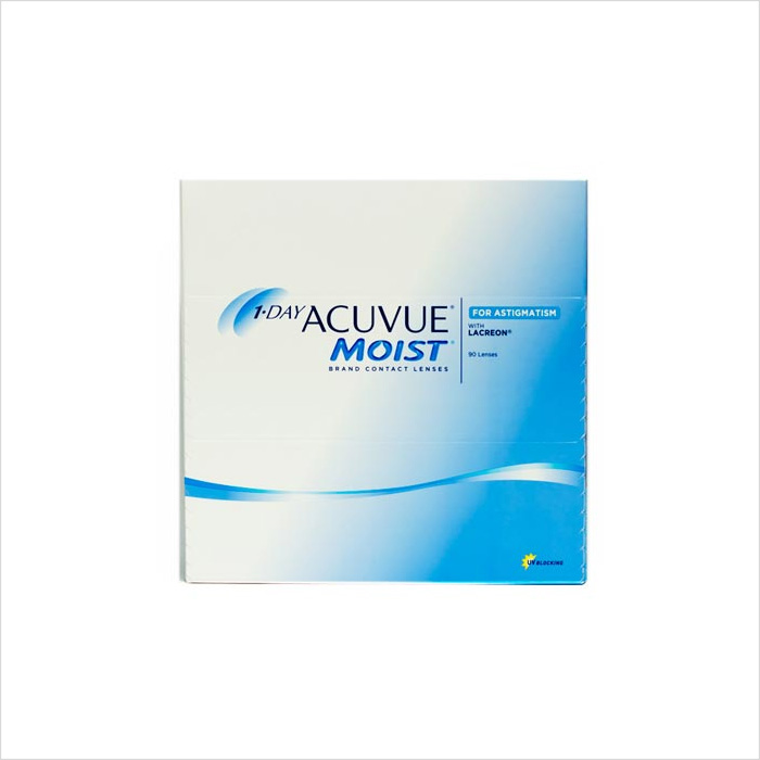 Acuvue 1 Day Moist Astig 90 Pack
