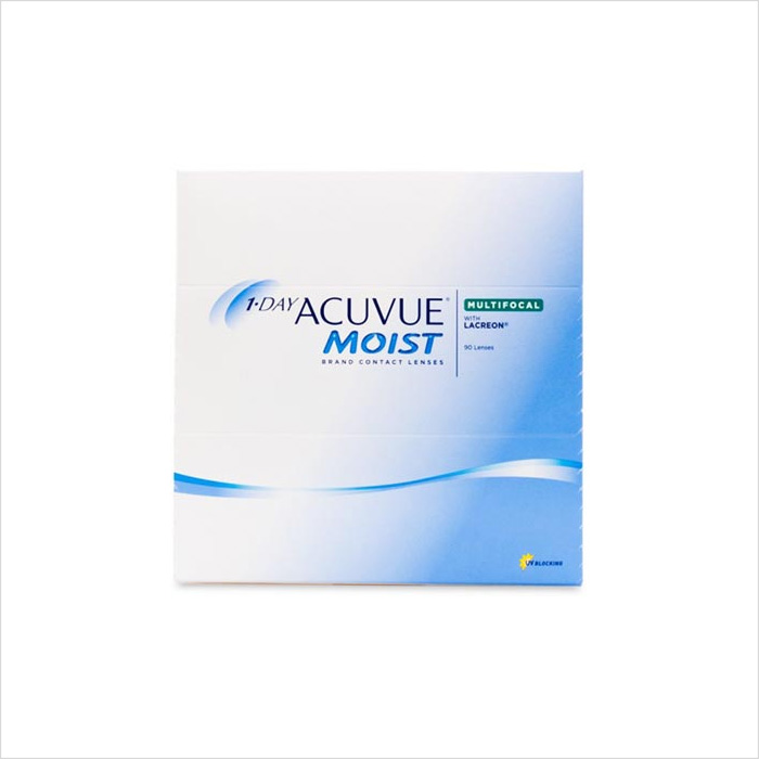 Acuvue 1 Day Moist Multifocal 90 Pack